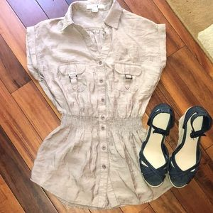 XXI Tan Blouse